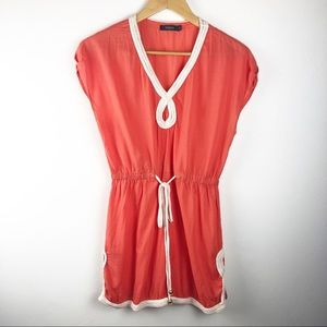 🌿 Theme Orange Dress